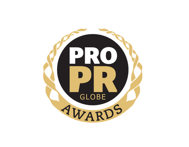 pro pr globe awards logo
