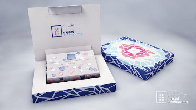 Slika sapuna sa tockicama - dekorativna slika